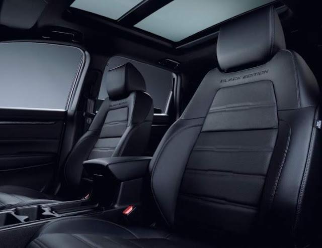 Jok Honda CRV Black Edition 2020