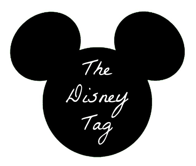 The Disney Tag text inside Mickey Mouse silhouette