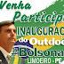 Grupo de Limoeirenses preparam outdoor em homenagem a Jair Bolsonaro