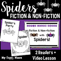 Spiders Fiction and Non-Fiction