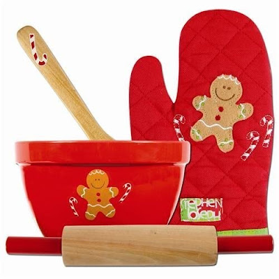 A children's cookie baking set