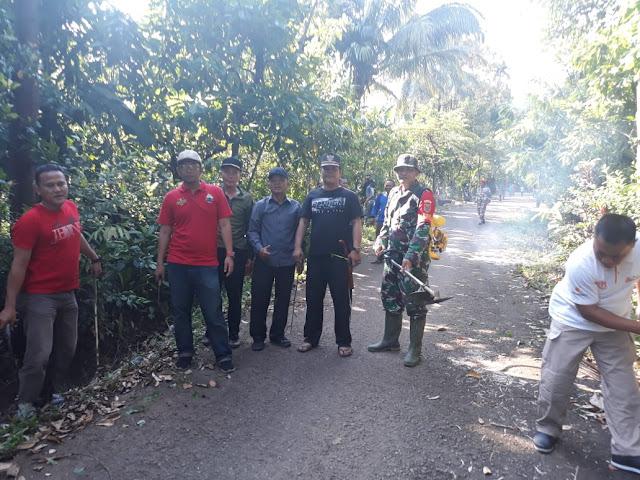 Kecamatan Kalianda Geber Jalan Menuju Objek Wisata