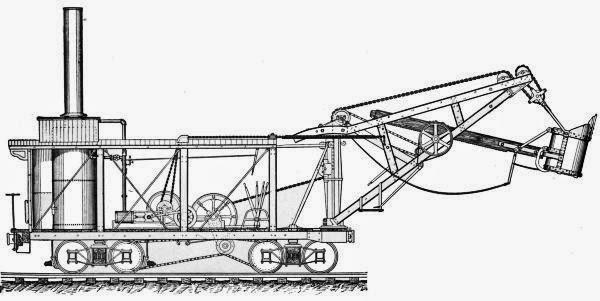 nkncat: Steam Shovel Book on Project Gutenberg