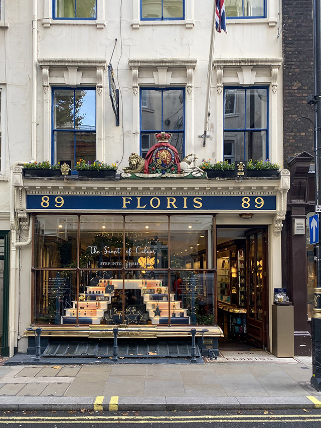 St James's Christmas London floris
