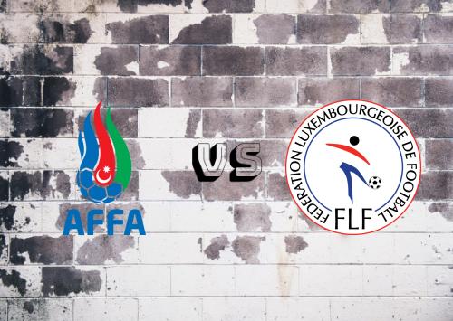 Azerbaiyán vs Luxemburgo  Resumen