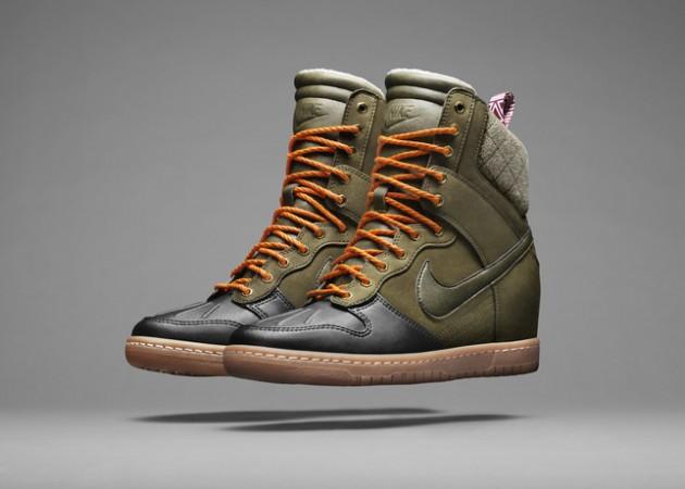 save off 0247d 9efe7 Nike Dunk Sky Hi SneakerBoot