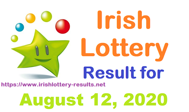 Irish Lottery Results for Wednesday, August 12, 2020