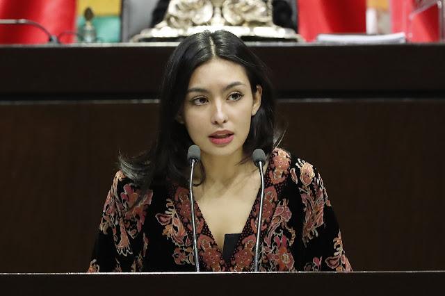 Frida Esparza pide comparecencia de titular de CNDH para que explique defensa a Sanjuana Martínez