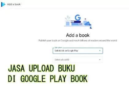 Jasa Upload Buku Google Play Book Murah dan Terjangkau