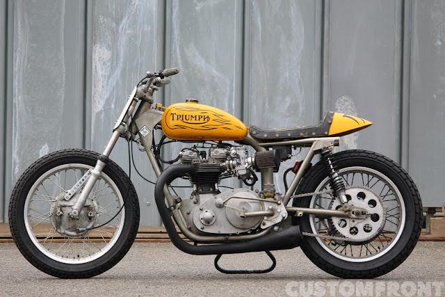 Triumph Bonneville 1970 By Libertaria Hell Kustom