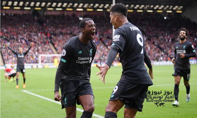 ليفربول يفوز علي شيفيلد يونايتد بهدف ثمين (1-0) في الدوري الإنجليزي الممتاز