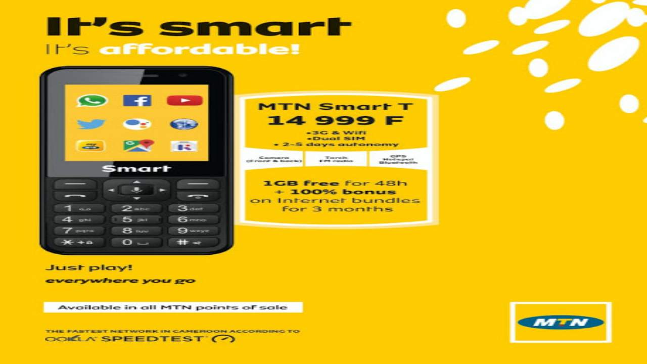 It's Smart & Affordable (MTN Cameroon Phones on Promotion)