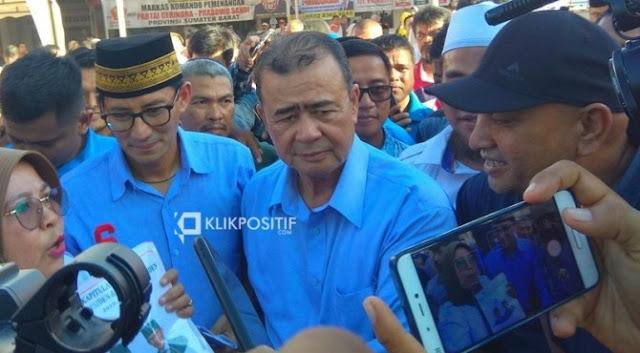 Prabowo Restui Nasrul Abit Maju Pilgub Sumbar