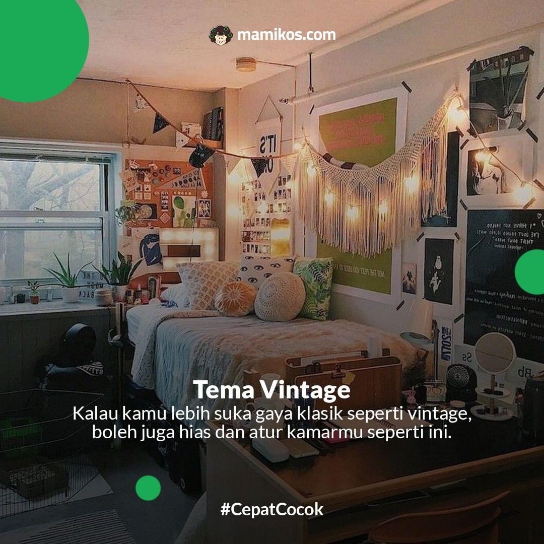 Kamar Tema Vintage