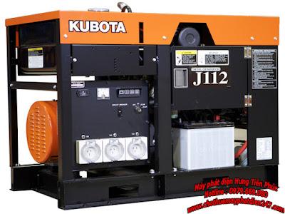 Máy phát điện Kubota 12kva J112
