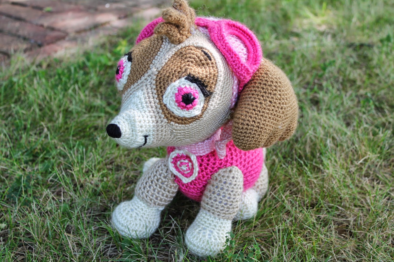 Katie Cooks And Crafts Paw Patrol Crochet Skye