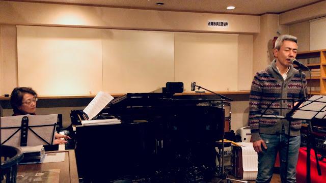 喜多直毅氏ンガーソングライターライヴ with 黒田京子(ピアノ) 2019年11月28日@inF