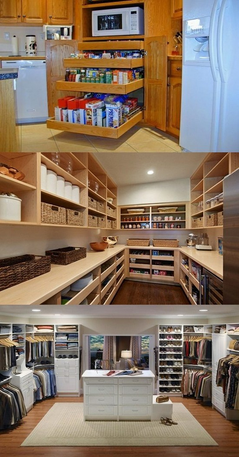 Great Renovation Concept of Pantry You Must Follow