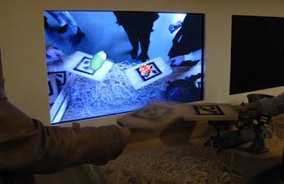 espaço interativo no Museu dos descobrimentos em Belmonte