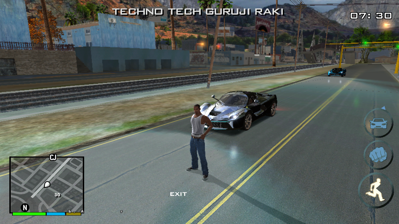 4K Ultra HD (4k) ENB Graphics Mod For GTA SA On Android - Techno