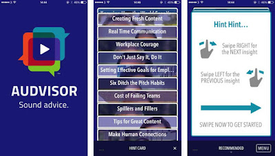 Review: Audvisor brings you sound advice from business experts