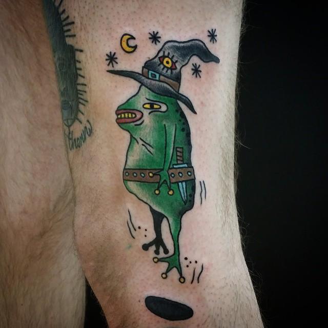 tatuagens de sapos