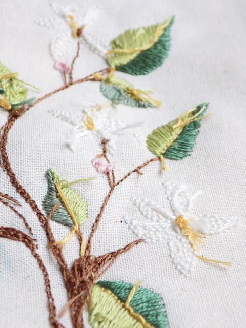Backside of hand embroidery and the new generation of stitchers