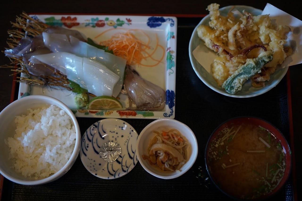 イカの定食(Squid Set Meal)