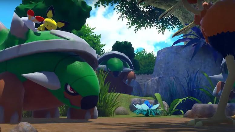 New Pokémon Snap - Torterra