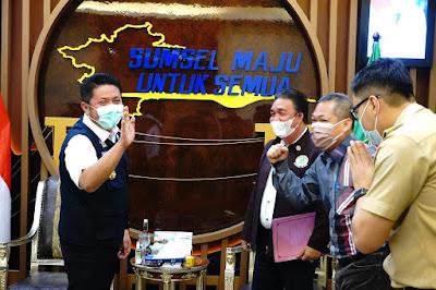 "Herman Deru Dukung Agenda PTMSI  Gelar Kejurda Tenis Meja ""Gubernur Cup"""
