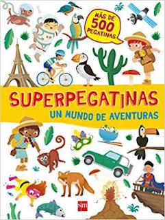libros pegatinaas niños llevar maleta verano vacaciones recomendados