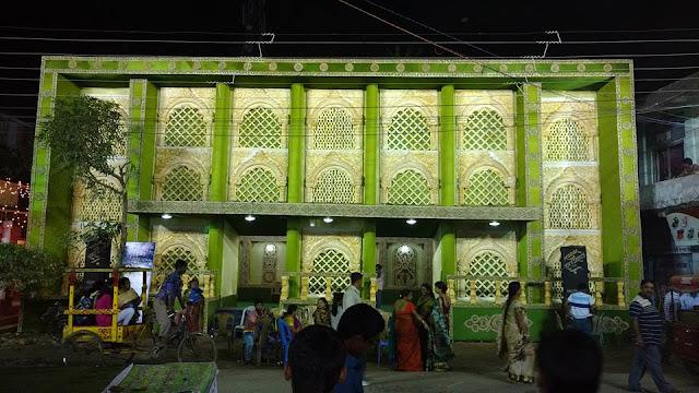 Maa Durga Puja Pandel Decoration