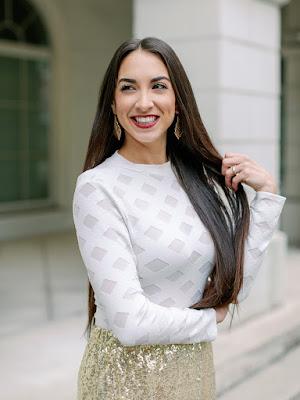 Sasha Johannes white shirt