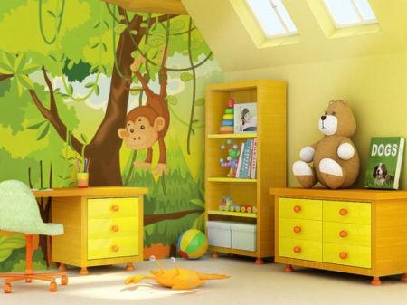 Ideeën voor een junglekamer ouders kind