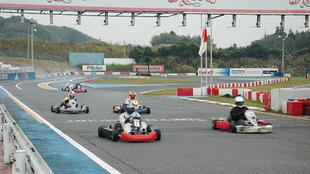 rental racing kart Japan