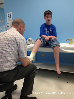 Luke at Lawalls Orthotics