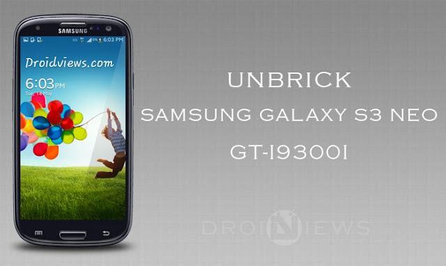[HƯỚNG DẪN] cứu boot cho Samsung Galaxy S3 Neo (GT-I9300i) không dùng box
