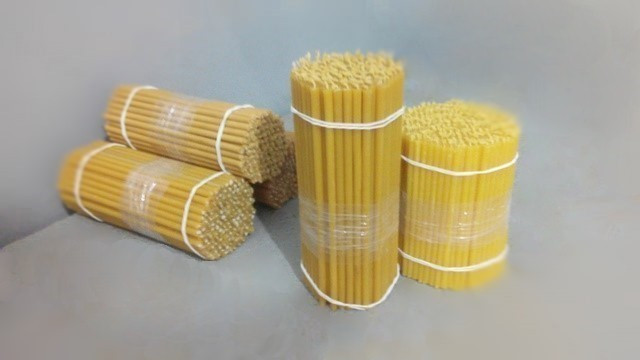 Manufacturing of church candles