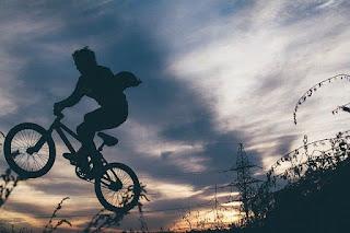 action, bike