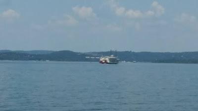 Showboat Branson Belle on Table Rock Lake