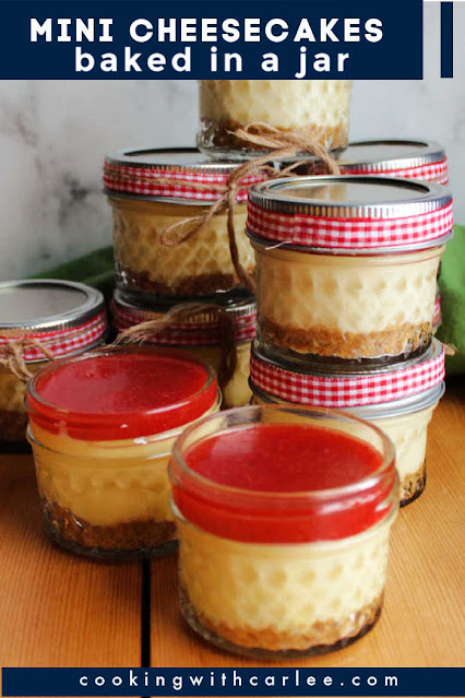 Mini sweetened condensed milk cheesecakes have all of the rich creamy goodness of our favorite baked cheesecake made quick and easy in individual sized jars.