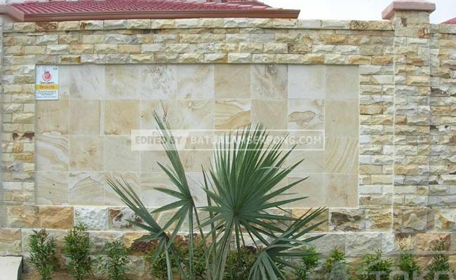 kombinasi batu alam