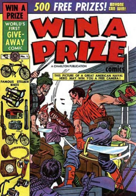Kirby Win A Prize Charlton Comics