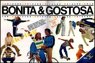propaganda Hering - 1978. moda anos 70; propaganda anos 70; história da década de 70; reclames anos 70; brazil in the 70s; Oswaldo Hernandez