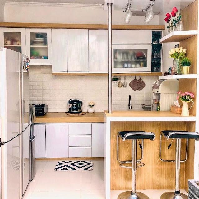 Model Kitchen Set Island untuk Dapur Kecil Minimalis