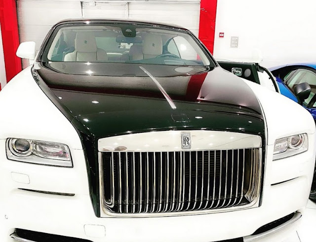 Photo: D'banj buys a Rolls Royce for his 39th birthday