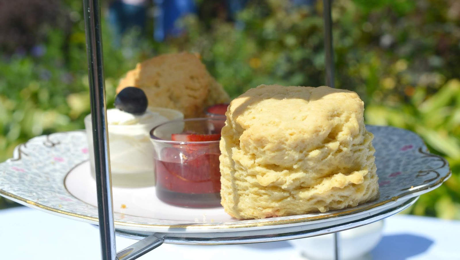 Crook Hall and Gardens, Durham - Scones