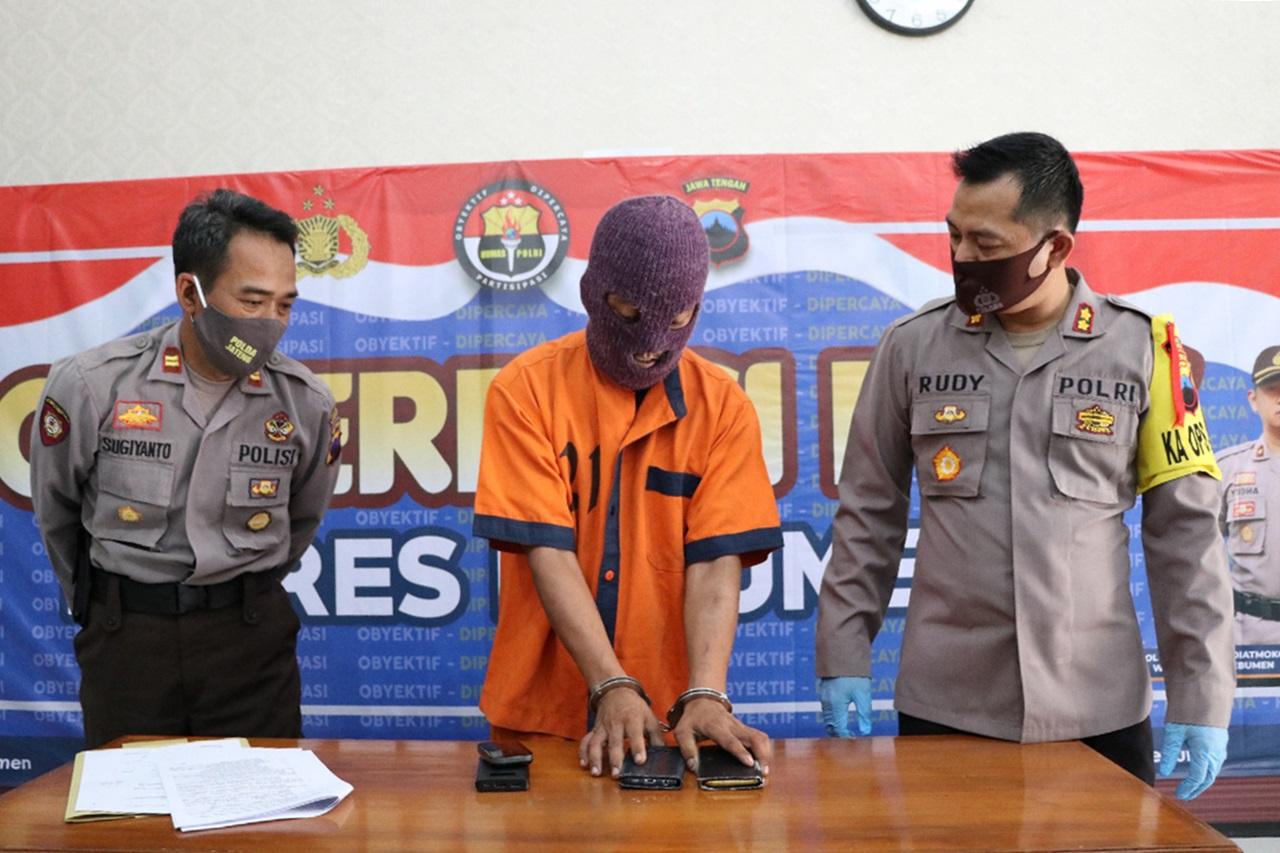 Residivis Asal Prembun ini Ditangkap Polisi 9 Jam Setelah Mencuri HP Mahal