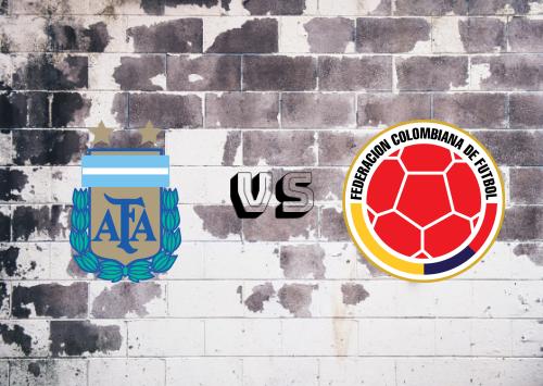 Argentina vs Colombia  Resumen y Partido Completo