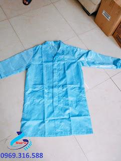 áo choàng chống tĩnh điện
